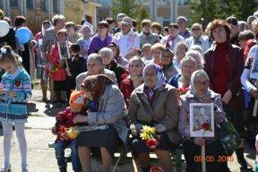 Праздничный митинг, посвящённый 70-летию Великой Победы. (фоторепортаж)