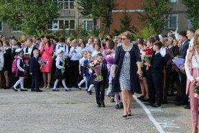 Школьная линейка 2 сентября 2019 года